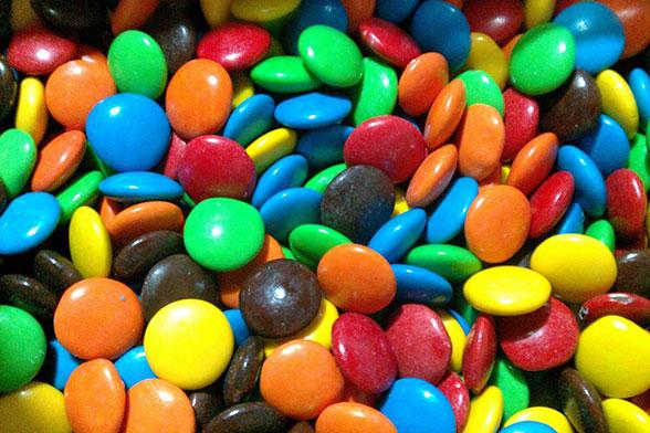Lentejas de chocolate
